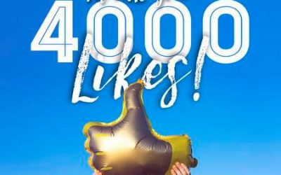 4000 like on Facebook !!