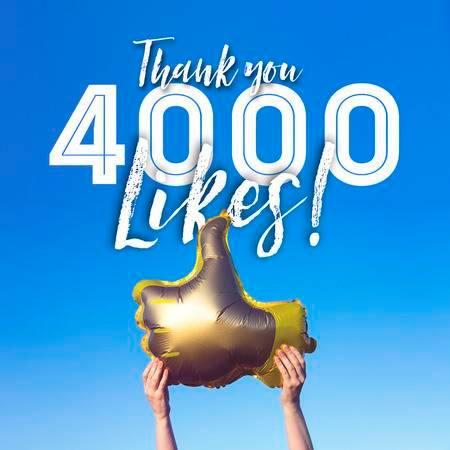 4000 like on Facebook !!